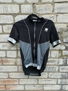 Sportful Bodyfit Short Sleeve Cycling Jersey Reflective Black Size L anakonda