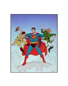 Superman / /DC / Golden Age Style Comics Sericel