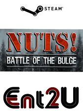 Nuts!: la bataille des ardennes clé steam-pour pc ou mac (même jour expédition)
