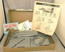 """Revell F-15A Eagle Fighter """"Streak Eagle"""" 1:48 Scale Airplane Model Kit 1977"""