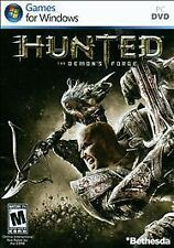 HUNTED - THE DEMON'S FORGE rare PC Windows Computer Game COMPLETE