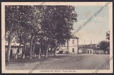 NOVARA CARPIGNANO SESIA 40 Piazza DELLA FIERA Cartolina VIAGGIATA 1942