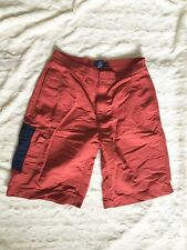 Vintage Mens Polo By Ralph Lauren Red Swim Trunks Board Shorts 16