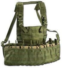 GILET TATTICO CHEST RIG MOLLE RECON LIGHT RC900 VERDE OD  - OUTAC by DEFCON 5