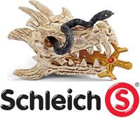 Trésor de Dragon Kit Accessoires et Figurine Eldrador Jeux Jouets Schleich 42152