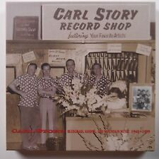 CARL STORY: Record Shop BEAR FAMILY germany COUNTRY MUSIC old timey CD SET NM