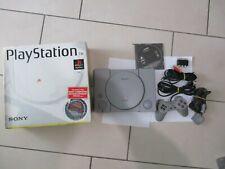 SONY PSX PS1 FAT SCPH-5502 PLAYSTATION 1 PAL ITA NO JAPAN NTSC CIB COMPLETE BOX
