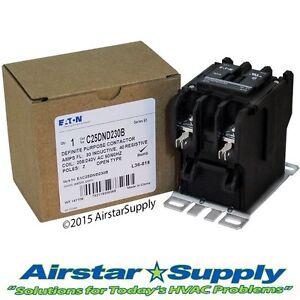 C25DND230B Eaton / Cutler Hammer Contactor - 30 Amp • 2 Pole • 208/240V Coil
