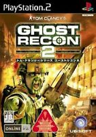 Used PS2 Tom Clancy's Ghost Recon 2 Import Japan