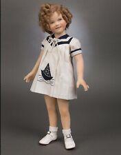 NIB R John Wright Shirley Temple #18 RARE SIGNED Hollywood Legends Doll