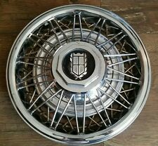"""'81-86 Ford Crown Victoria Mercury Grand Marquis 831A 14"""" Wire Hubcap Cover USED"""