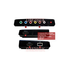 3-In-1 Digital HD Component Video HDMI RCA A/V DVR With Video Editing Software