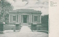 (S)  Auburn, NY - Case Memorial Library - Exterior and Grounds - Approach