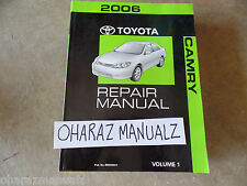 2006 TOYOTA Camry Service Manual Volume 1 SEE PICS FOR SUBJECTS