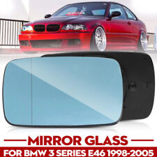 For BMW E46 3-Series Sedan Wagon Compact 98-06 Pair Rearview Mirror Glass Heated