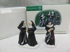 Department 56 Sisters Of the Abbey Set of 2 Alpine Village Series