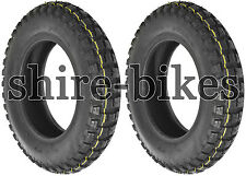 4.00 x 10 Duro Off Road Knobbly Tyres (Pair) for Honda CT70 Dax ST70 ST50