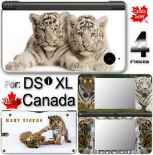 BABY TIGER CUTE SKIN COVER STICKER for NINTENDO DSi XL