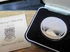 Tuvalu silver preuve 10 $pièce 1981 année duc d'Édimbourg boîte / certificat d'authenticité très rare