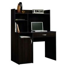 Sauder 413084 Beginnings Desk with Hutch - Cinnamon Cherry