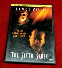 The Sixth Sense (Dvd, 2000, Collectors Series) * Orig Artwork * Widescreen