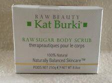 Kat Burki RAW BEAUTY Body Scrub Sugar Scrub 8.8 fl oz New