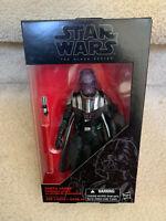 """Star Wars Black Series 6"""" Darth Vader Emperor's Wrath Figure Exclusive Walgreens"""