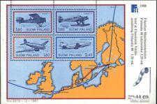Finland Blok 4 postfris 1988 FINLANDIA`88 Postbezorging