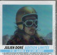 Julien Doré& Esperluette - LIVE Edition limitée Coffret2 CD2017France