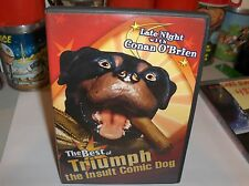 Late night With Conan O'Brien-The Best of Triumph..The Insult Dog.DVD.Free To US