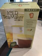 EUC Vintage Mr. Coffee ice tea maker 3 quart model TM70Y tea steeping control
