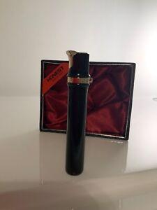 HONEST SINGLE FLAME BLACK & GOLD PIPE CIGARETTE LIGHTER PRESENTATION BOX BCZ249