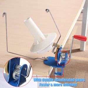 10oz Yarn Wool Metal Winder Fiber String Thread Skein Ball Machine Knitting Tool