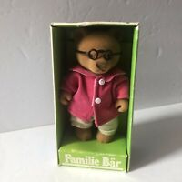 Calico Critters Forest Families Barenwald Simba Opa Bear Sylvanian with Box