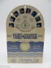 View-Master Reel 105, Rainer National Park, Glaciers, Washington, Single Reel