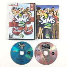 Jeu Les Sims 2 + Kit Noel (Edition De Noel) / Sur PC (joyeux noel)