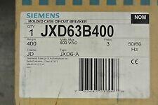 SIEMENS JXD63B400 JXD 3P 600V 400A CIRCUIT BREAKER - NEW IN BOX