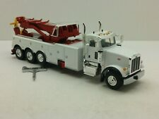 1/50 Scale FIRST GEAR #50-3440 WHITE/RED-PETERBILT 367 CENTURY 1060S ROTATOR