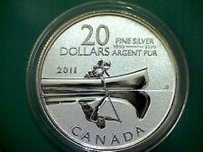 2012 CANADA $20 for $20 Canoe silver - coin only - NO original folder