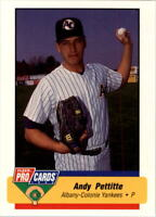 1994 Albany Yankees Fleer/ProCards #1438 Andy Pettitte