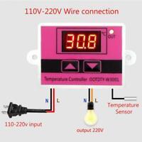 W3001 AC 110V-220V Temperature Controller Thermostat Switch Digital LED L