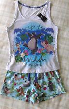 Ladies Disney The Jungle Book Vest Top & Shorts Pyjamas/PJ's/Sleepwear UK 12-14