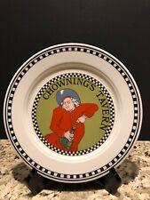 "Vintage Homer Laughlin CHOWNING'S TAVERN 9"" Restaurant Plate Williamsburg USA"