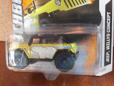 MATCHBOX JEEP WILLYS CONCEPT POLAR 4/10 MADE IN THAILAND SHORT CARD