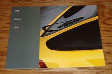 Original 1989 Honda CRX Deluxe Sales Brochure 89