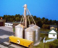 GRAIN ELEVATOR Large Auger w- ladders chutes HO 1/87 Scale kit RIX 628-0407