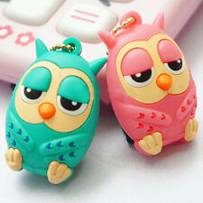 3.5mm Cute Owl Anti Dust Stopper Earphone Jack Plug Cap For iPhone Samsung ^