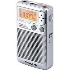 Sangean DT250 Pocket Radio With Speaker Earphones Beltclip