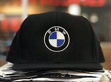 Bmw Hat Big Crown Flat Bill Snap Back M Power Sport
