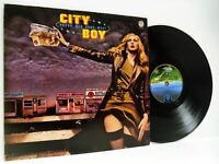 CITY BOY young men gone west LP EX-/VG 6360 151 vinyl album, uk, 1977, prog rock